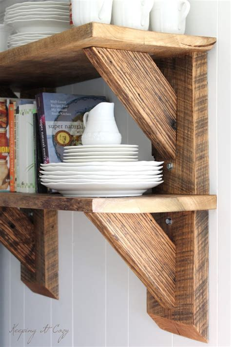 Diy Stackable Locking Wood Shelves