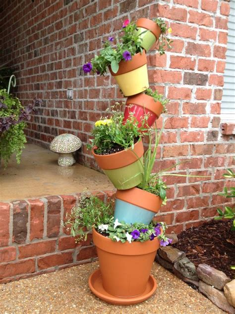 Diy Stacked Planter Boxes
