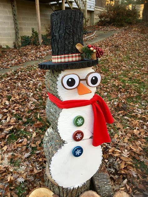 Diy Stacking Snowman