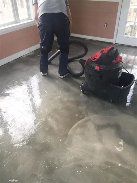 Diy Stained Concrete Floor Cleaner