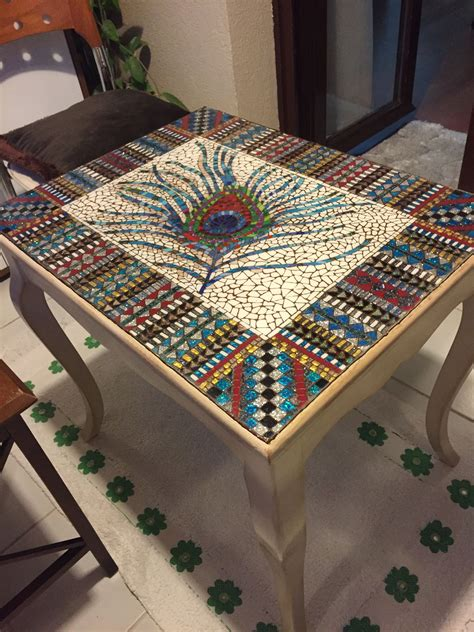 Diy Stained Table Top Ideas