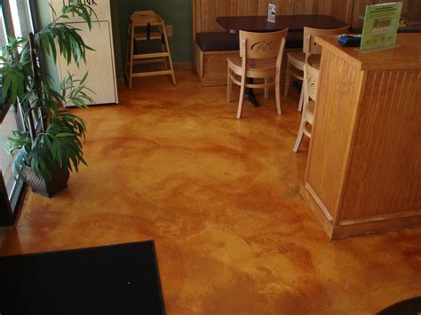 Diy Staining Concrete Floors