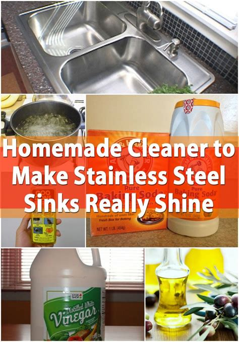 Diy Stainless Steel Sink Cleaner