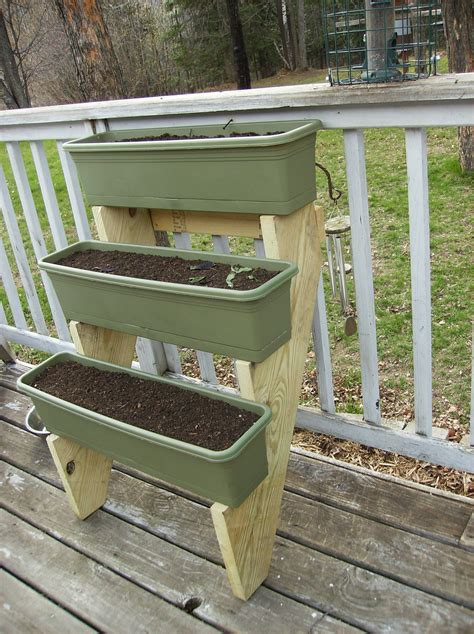 Diy Stair Stringer Planter