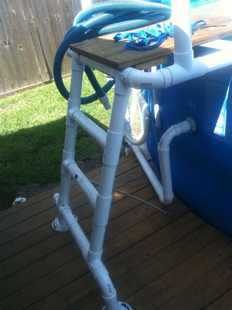Diy Stairs For Above Ground Pool Pvc
