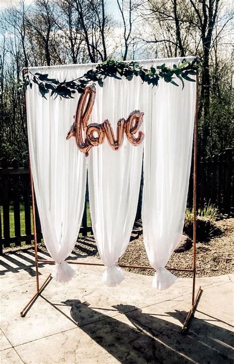 Diy Stand Alone Backdrops For Parties