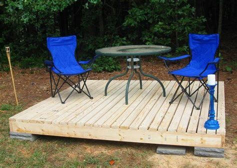 Diy Stand Alone Deck