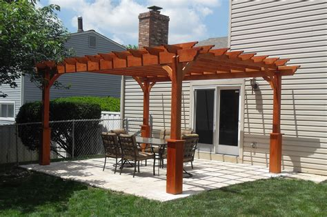 Diy Stand Alone Pergola With Metal Roof