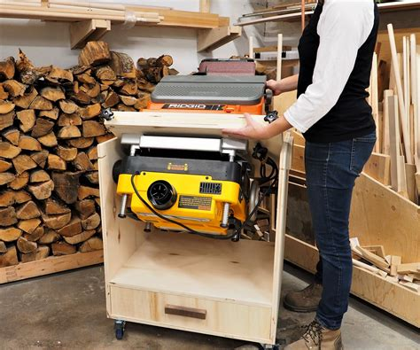 Diy Stand For Planer