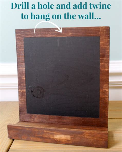 Diy Stand Up Chalkboard