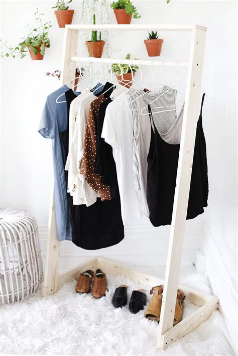 Diy Standing Clothes Rack
