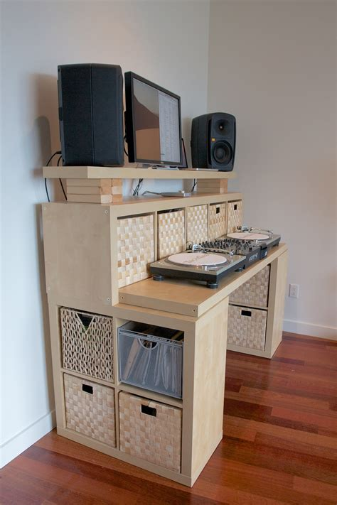 Diy Standing Desk With Storage