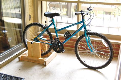 Diy Stationary Bicycle Trainer