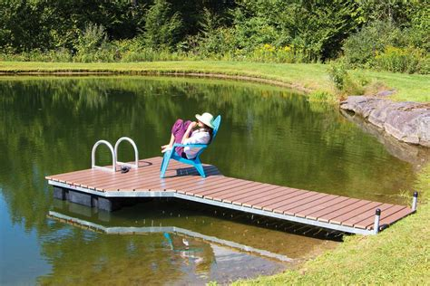 Diy Stationary Pond Dock