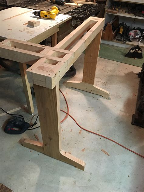 Diy Steel Lathe Table Or Stand