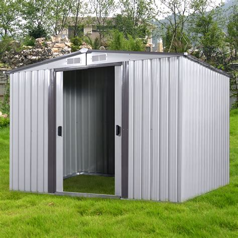 Diy Steel Storage Shed