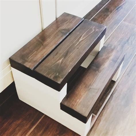 Diy Step Stool Made Out Of 2x4