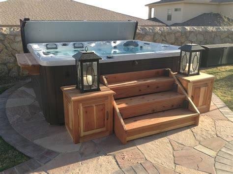 Diy Steps For Hot Tub