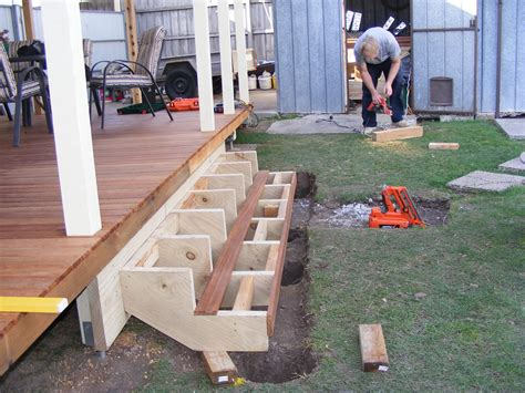 Diy Steps To A Deck