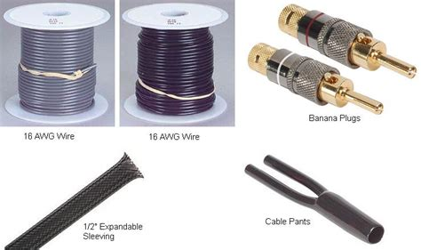 Diy Stereo Cable Parts