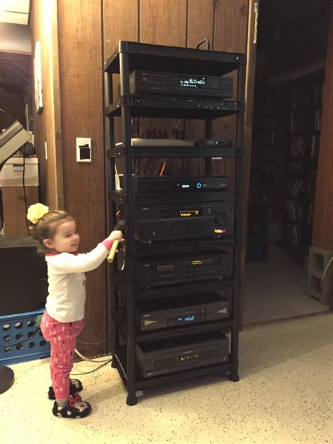 Diy Stereo Component Stand