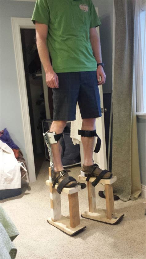 Diy Stilts For Adults