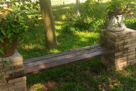 Diy Stone Bench Plan