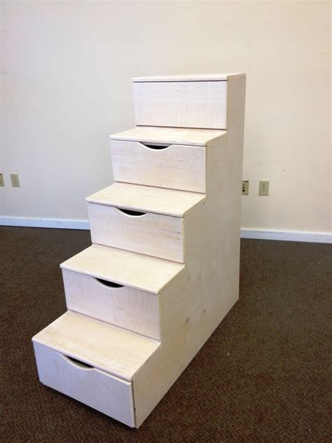 Diy Storage Bed With Stairs