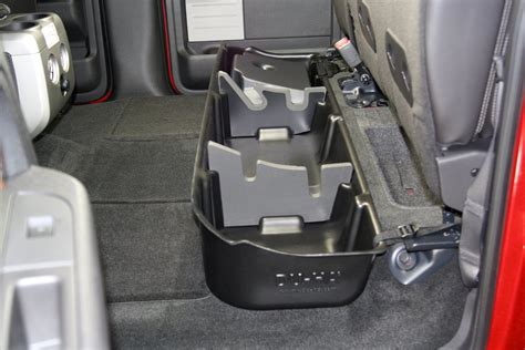Diy Storage Behind The Seat Ford F150 1992