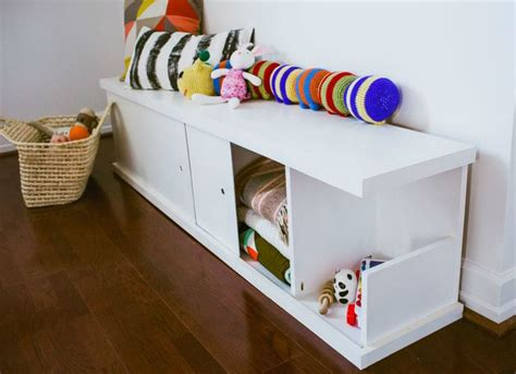 Diy Storage Bench For Toys
