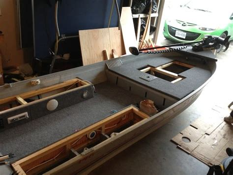 Diy Storage Box In V Bottom Boat