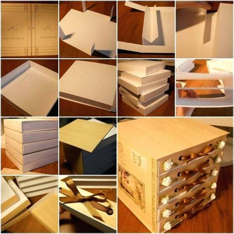 Diy Storage Boxes Ideas Out Of Cardboard