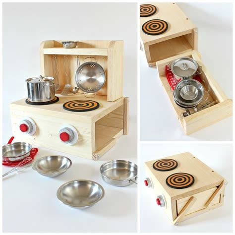 Diy Storage Container Play Kitchen