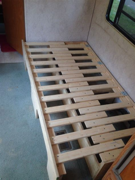 Diy Storage Couch In Cargo Trailer