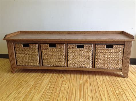 Diy Storage Cubby Bench