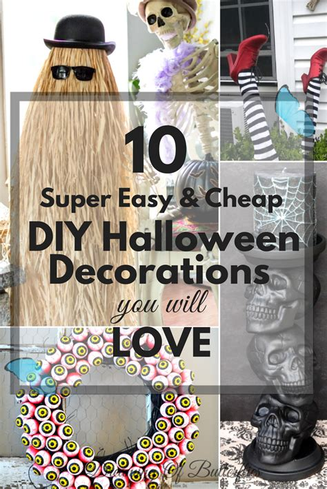 Diy Storage Easy Diy Halloween