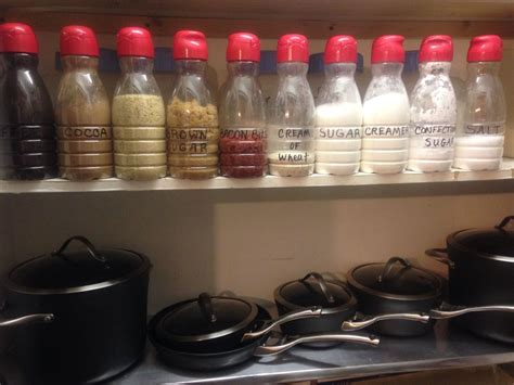 Diy Storage Ideas For Plastic Containers