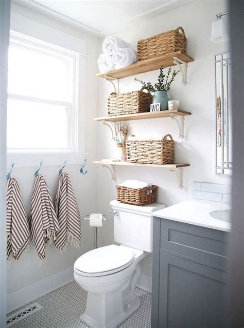 Diy Storage In Small Bathroom