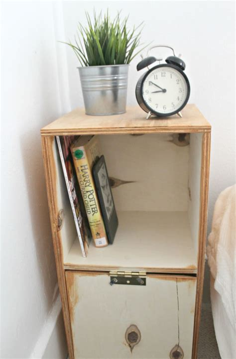 Diy Storage Nightstand