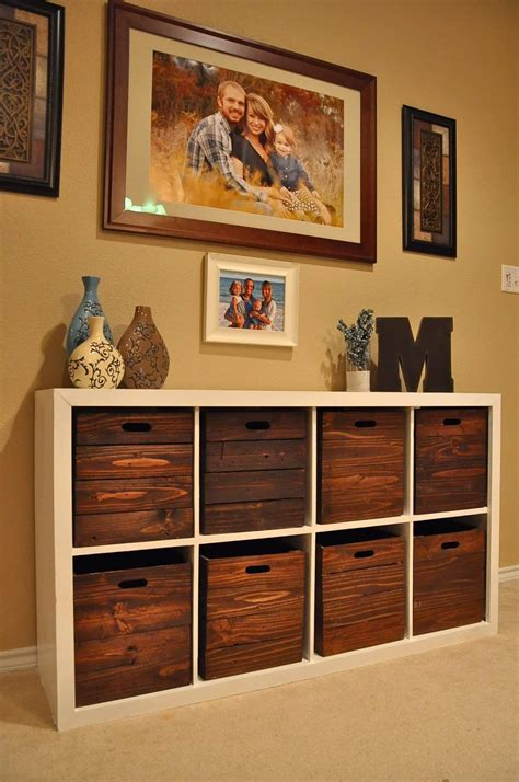 Diy Storage Organizer Crate