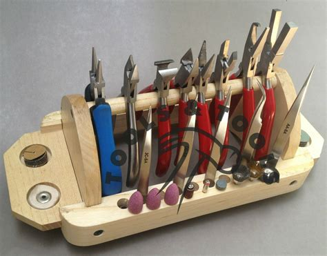 Diy Storage Rack For Pliers For Jewelry