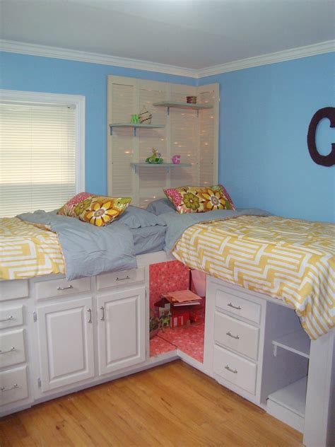 Diy Storage Shared Room Girls