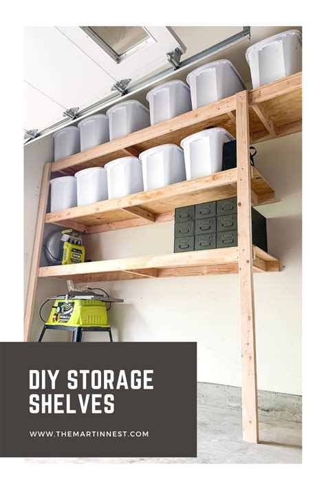 Diy Storage Shelves Easy To Install
