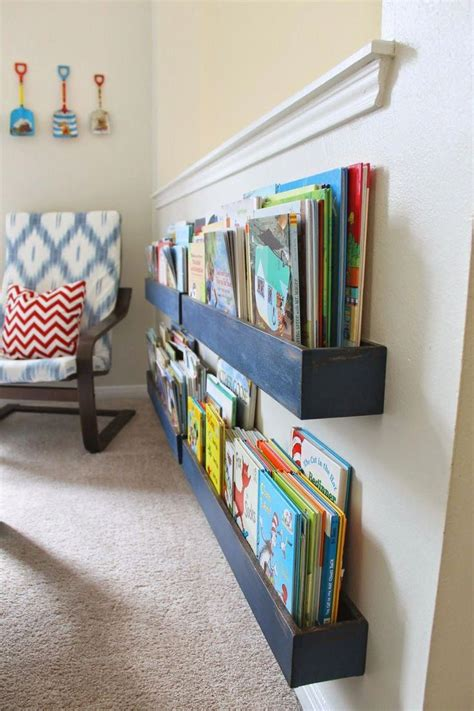 Diy Storage Space Ideas For Books