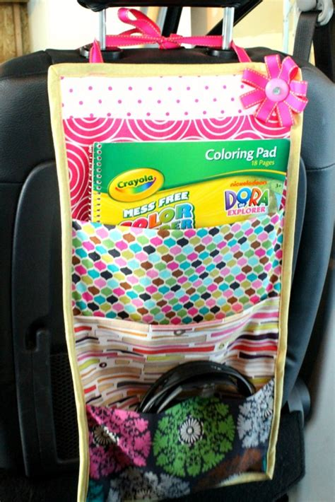 Diy Storage When Traviling With Kids