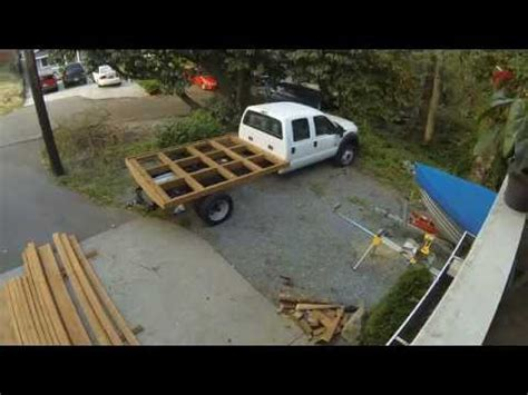Diy Street Legal Wood Flatbed Wvlt