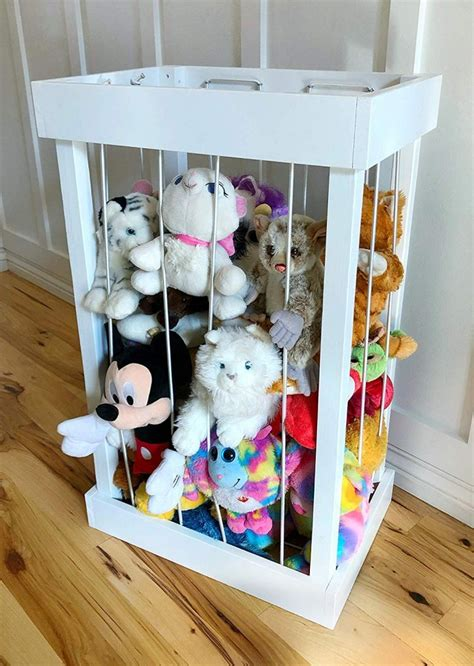 Diy Stuffed Animal Storage Cage