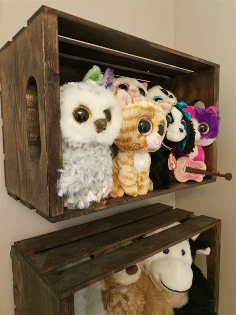 Diy Stuffed Animal Storage With Crates