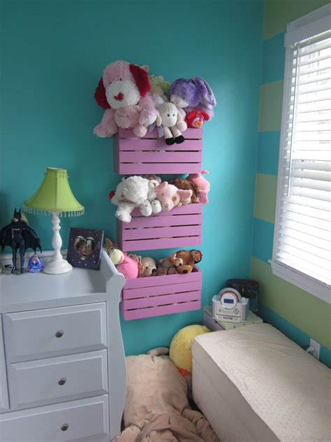 Diy Stuffed Animal Wall Storage