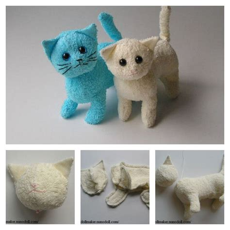 Diy Stuffed Animals Patterns Cat